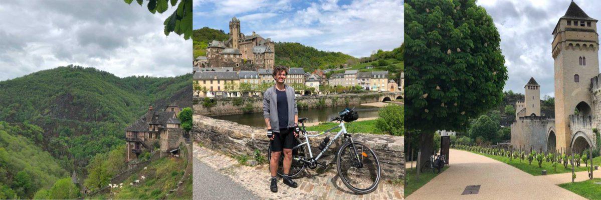 Geoffrey Bruyère's bike trip with Selle SMP
