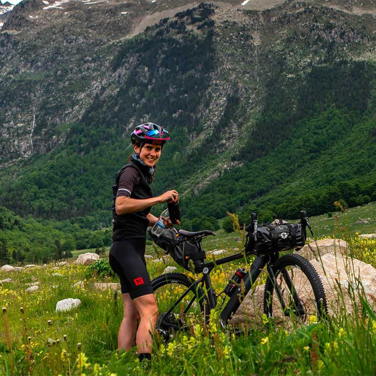Bikepacking with Anna Barrero: an interview with the energetic Catalan cyclist